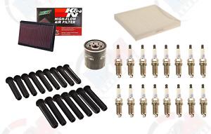 Tune Up Kit w/ K&N PERFORMANCE Air Filter for 2011-2012 Dodge Ram 1500 5.7L HEMI