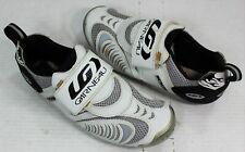 Louis Garneau Ergo Air Men's Cycling Road Bike Shoes Size 41 (Eur) White Euc