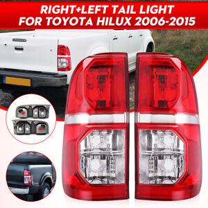 LHS + RHS Rear Tail Light Brake Lamp For Toyota Hilux SR SR5 7 Gen Ute 2005-2015