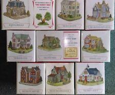 Liberty Falls - Set / Lot of 9 - Ah178 to Ah186 - Americana 1999 - Small Village