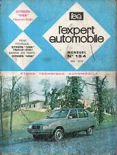 RTA revue technique automobile N° 154 CITROEN VISA SPECIAL CLUB