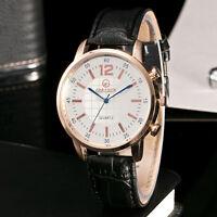 Fashion Men's Quartz Business Watches Stainless Steel Analog Sports Wrist Watch