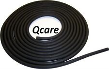 """1/4"""" I.D X 1/16"""" wall x 3/8"""" O.D By The  Foot LATEX SURGICAL RUBBER TUBING BLACK"""