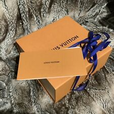 100% authentic LOUIS VUITTON GIFT BOX EMPTY LV box orangemagnetic 26*25*12