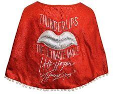 "Hulk Hogan ""Thunderlips"" Autographed ROCKY BALBOA Cape ASI Proof"
