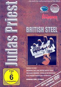 DVD • JUDAS PRIEST • 2001 • BRITISH STEEL • (German Metal Hammer Edition)