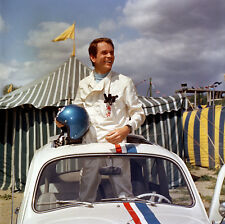 WALT DISNEY'S THE LOVE BUG DEAN JONES WITH HERBIE THE VW RARE PHOTO