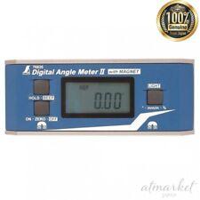 Shinwa Sokutei Digital Angle Meter II 76826 With Dustproof Waterproof Magnet
