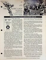Vtg The Flying Lady  The Bulletin of the Rolls Royce Owners Club June 1963 m1112