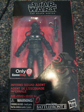 StarWars Inferno Squad Agent  (Black series) 6 inch GameStop exclusive! Sold Out