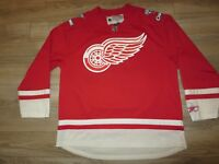 Detroit Red Wings 2008 NHL Stanley Cup Champions Hockey NHL Jersey M Medium Mens