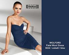 Wolford Fatal Wool Dress • XS • cobalt • BNIB •  ..... mit Fantasie zu tragen .