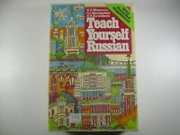 TEACH YOURSELF RUSSIAN Language Course Book w/ 2 audio tape cassettes learn