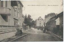 CPA -90 - BEAUCOURT - Rue de Badevel