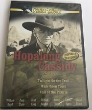 Hopalong Cassidy Triple Feature Vol. 1 (DVD, 2005) Brand New And Sealed.