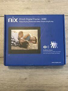 NIX 8 Inch Digital Photo Frame X08E With Kingston 16gb Data USB