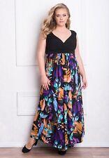 NWT IGIGI Women's Plus Size VALENCIA Maxi Dress Gown 18-20 W