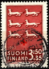 Finland 1943 Mi 273 Red Cross