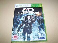 Binary Domain XBOX 360 **New & Sealed**