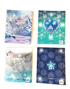 Star Wars and Frozen Portfolio Folder with 2 Pockets(Pack of 2 Folders )