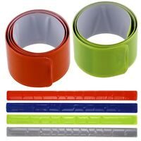 Cycling Bike Bicycle Arm Leg Pant Reflective Band Strap Belt Safety Reflector