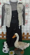 vêtements occasion garçon 2 ans,sous-pull,salopette jean GRAIN DE BLE,gilet
