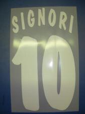 bologna kit SIGNORI bianco Nameset maglia calcio macron