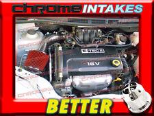 CF BLACK RED 04 05-08 CHEVY AVEO/AVEO5 5 BASE/LS/LT 1.6 1.6L I4 AIR INTAKE KIT