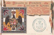7567) VERCELLI, CAVALLERIA, LANCIERI DI NOVARA. FORMATO PICCOLO.