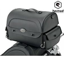 Saddlemen Express Cruis'n Motorcycle Trunk Tail Bag Pack - Black
