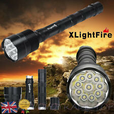 XLightFire 28000 Lumens XML T6 11x LED Flashlight Torch High Power Super Bright