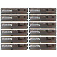 96GB Kit 12x 8GB HP Proliant DL320 DL360 DL370 DL380 ML330 ML350 G6 Memory Ram