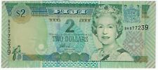 Reserve Bank of Fiji 1992-1995 Issue 2 Dollars Pick #96b Foreign World Banknote