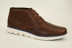 Timberland Bradstreet Chukka Boots Ankle Boots Ultra Light Lace Up A11BR