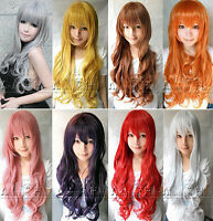 Women's sexy wig long wavy curly wigs fancy dress hair for party cosplay costume