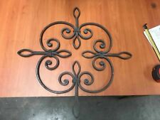 Wrought Iron Rosette Hot Forged