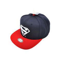 Unisex Mens Womens Superman DC Comics Hip-hop Baseball Cap Snapback Hats Navy