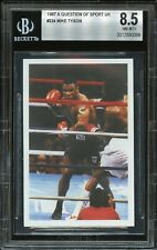 1987 A Question Of Sport UK #224 Mike Tyson RC Rookie Card BGS 8.5 NM-MT+