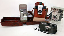 Vintage Revere Eight Movie & Kodak Brownie Flash Box S10 35mm Pop Out Camera Lot