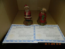 """Tom Clark """" Mr. Claus And Mrs. Claus Iii """" Gnomes"""