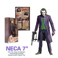 """NECA 7 """"DC Le Joker Dans Batman Dark Knight Suicide Squad Figurine Modèle Jouet"""