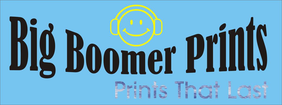Big Boomer Prints
