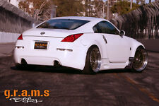 Nissan 350Z Carbon Fiber Aero Side Diverters for Performance any Side Skirts v6