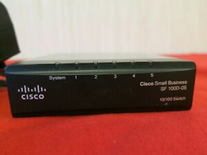 Cisco SF100D-05 Ethernet 5-Port Network Fast Switch