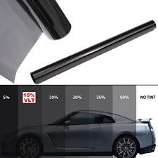 UK 15 % noir voiture Auto maison fenêtre teinte Film miroir teinter 2 plis roule