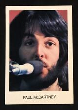 Rare official Singapore EMI postcard PAUL McCARTNEY English Singer ,Rediffusion