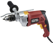 Central Electric 60495 1/2 in. Heavy Duty Variable Speed Reversible Hammer Drill