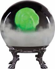 Halloween Crystal Ball Phantom Skull Decoration Prop Scary Haunted House Sound