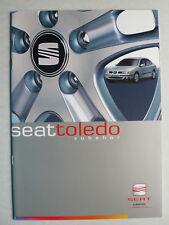Prospekt Seat Toledo Zubehör, ca.2001, 20 Seiten
