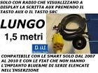 Cavo INGRESSO SOLO AUDIO AUX Mp3 Alfa 159 MUSA Fiat 500 Grande Punto a pannello